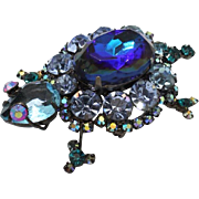 Juliana DeLizza & Elster Blue Gunmetal Turtle
