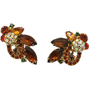 Juliana DeLizza & Elster Topaz Disco Ball Earrings