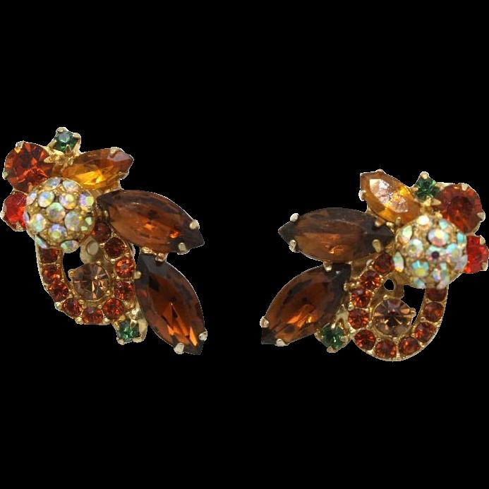 Juliana DeLizza & Elster Topaz Disco Ball Earrings