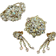 Juliana DeLizza & Elster Crystal Dangle Parure