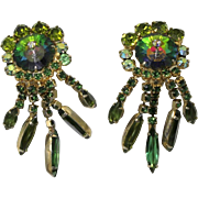 Juliana DeLizza & Elster Olivine Margarita Dangle Earrings