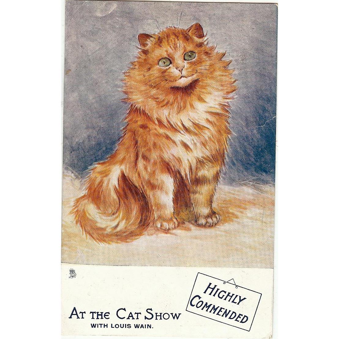 Raphael Tuck Oilette Louis Wain The Cat Show