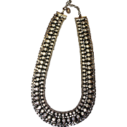 "18"" Stunning IMAN Faux Diamond Necklace"