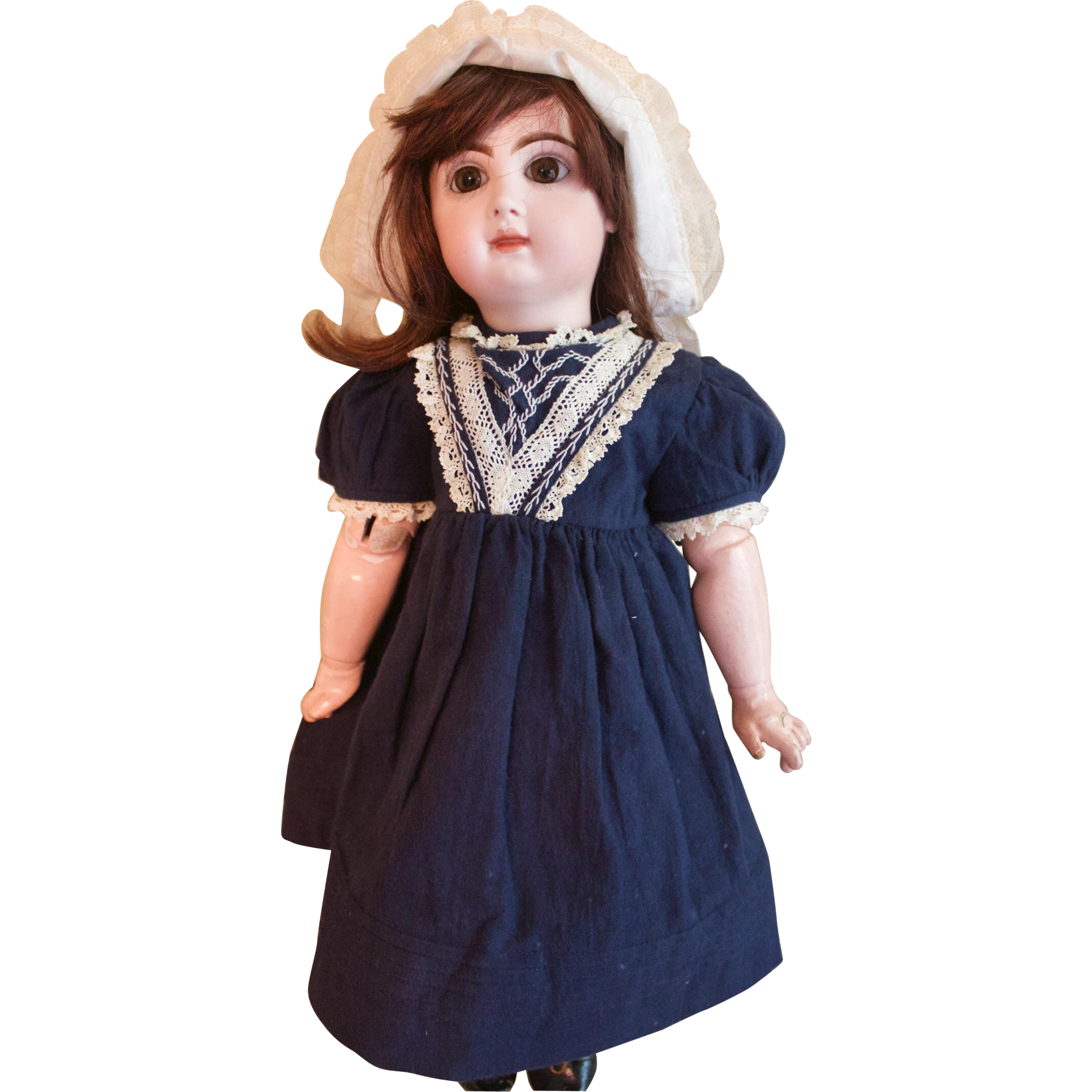 Gorgeous 21 inch closed-mouth Tete Jumeau Doll