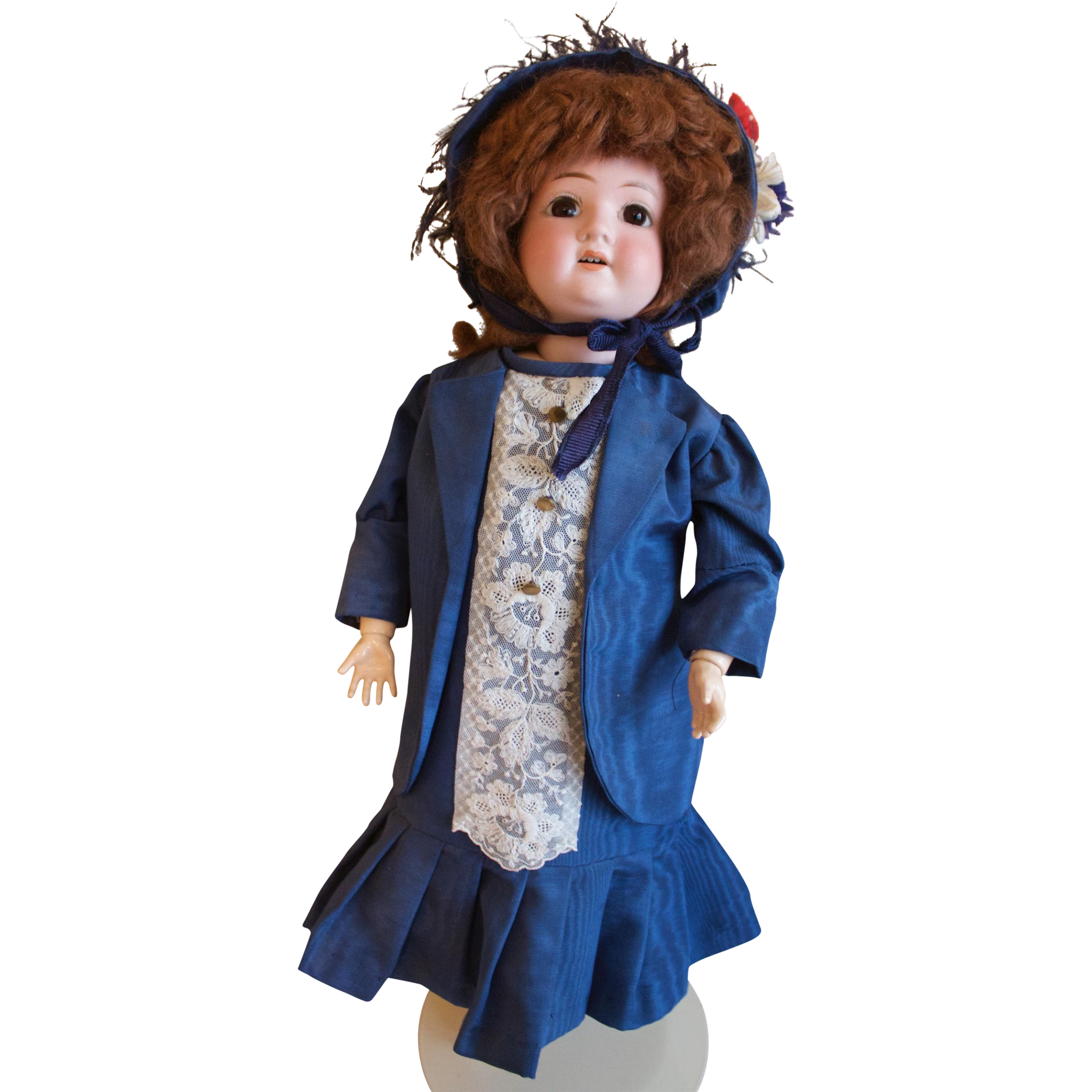 "Beautiful 22"" Schoenau & Hoffmeister Vintage Doll"