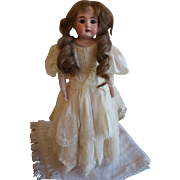 "Great 16"" Bisque Kestner Shoulder Head Doll Vintage collectible"