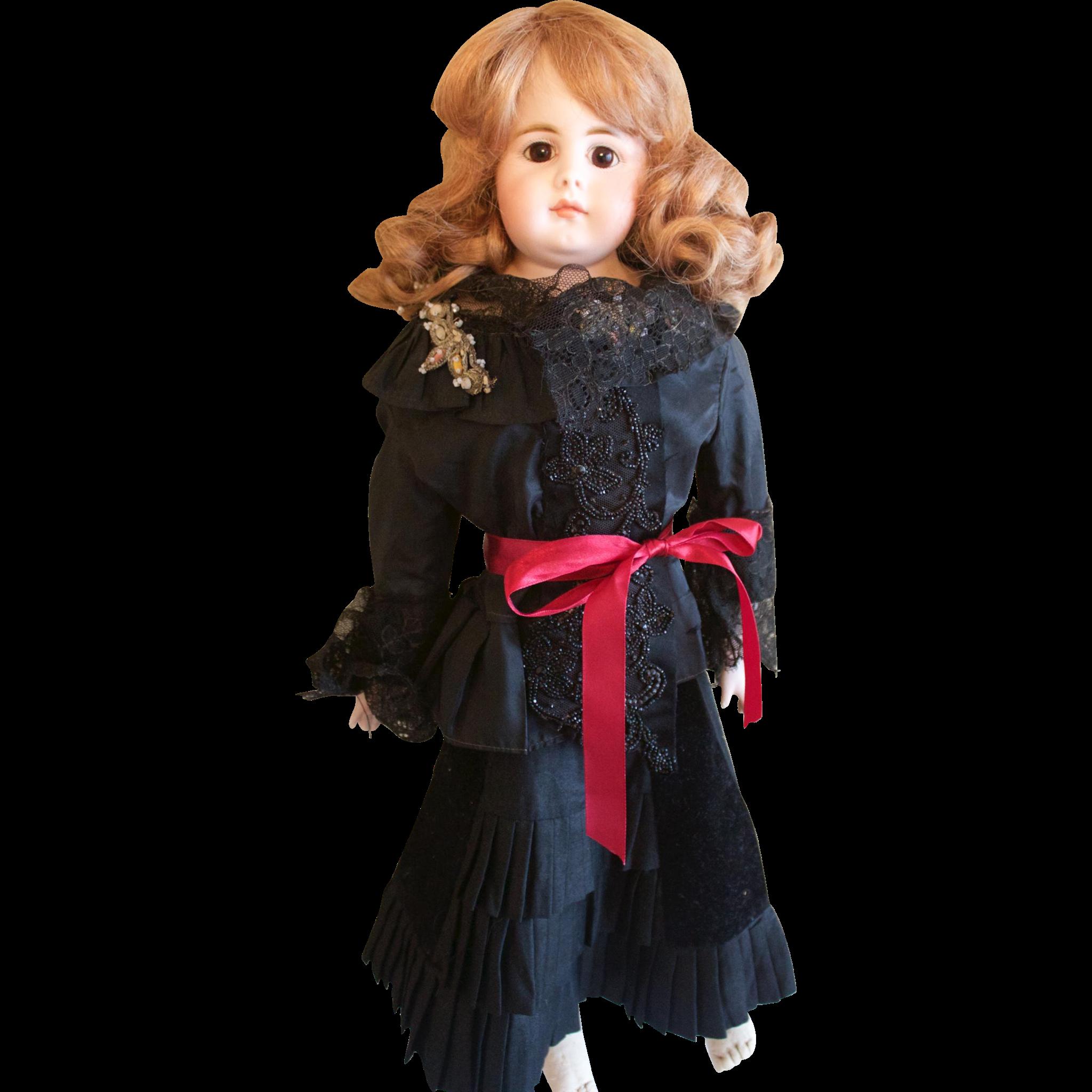 "Gorgeous 23"" Simon & Halbig 950 Vintage Collectible Doll"