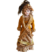 "1984 Lynda Marx Wonderful 18"" Portrait Jumeau vintage collectible Doll"
