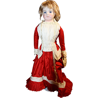 "Late 1800's 19"" Porcelain doll"