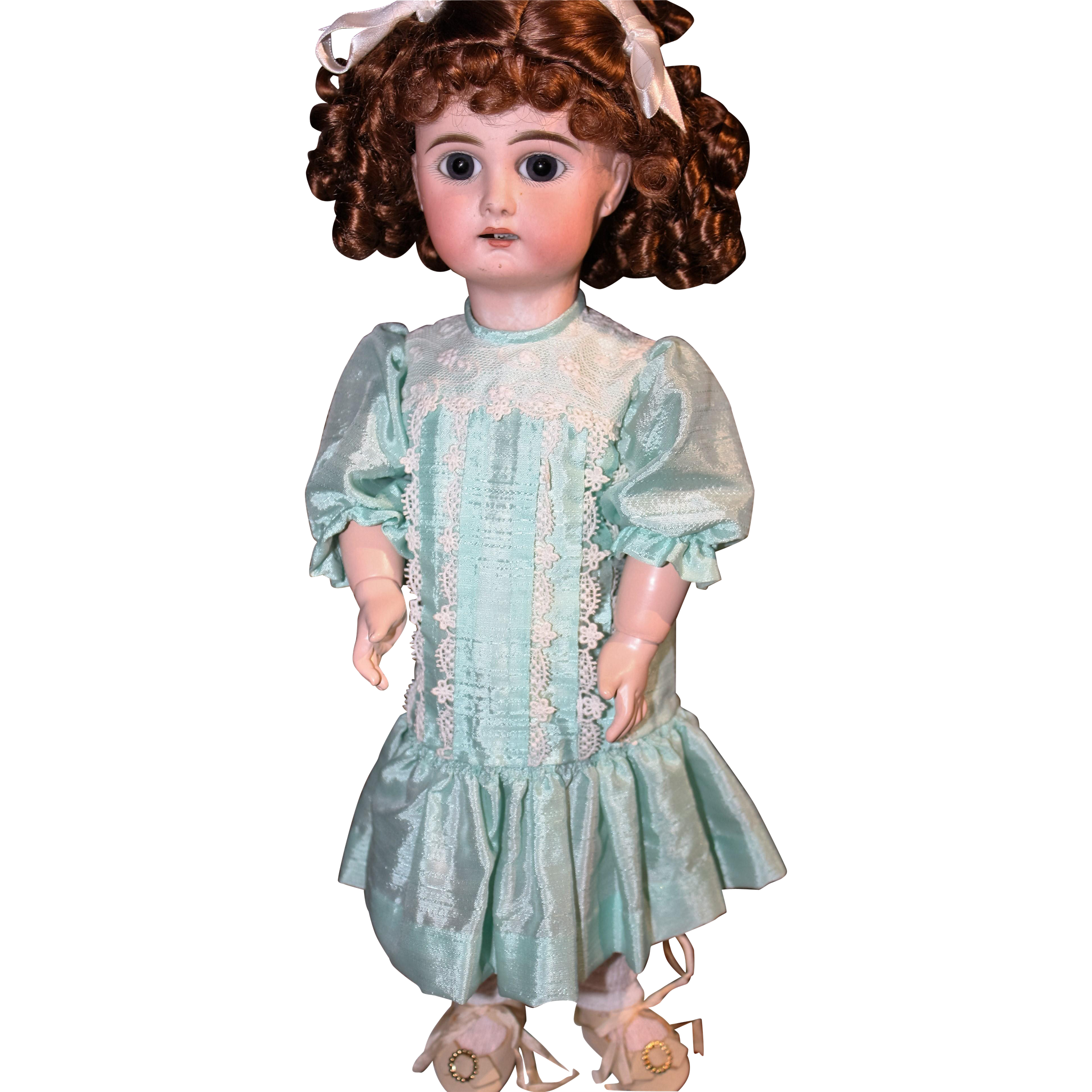 "15"" SFBJ Early 1900's Doll head"