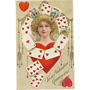 To my Valentine Queen of Hearts Fortune Valentine Series