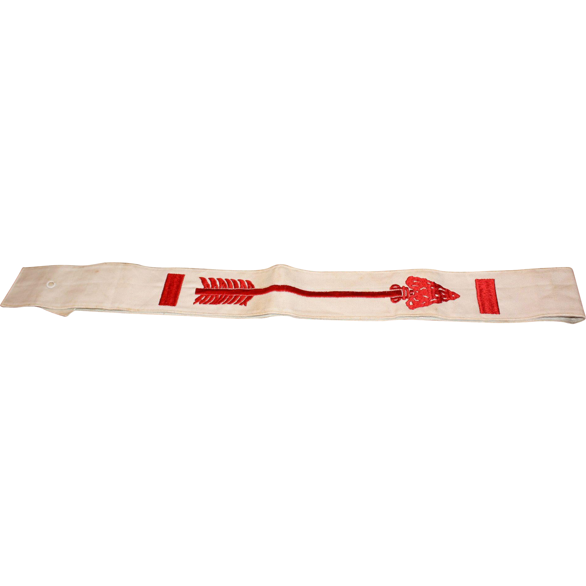 "Early 26"" Boy Scouts of America Order of the Arrow Sash"