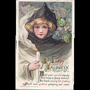 Superb John Winsch Samuel Schmucker Vintage Halloween Postcard