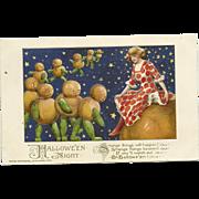 1913 Halloween Night Postcard by Samuel Schmucker and John Winsch