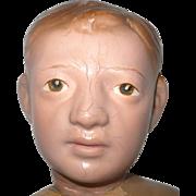 19 Inch Schoenhut Carved Hair Manikin Swivel Waist Original Face Paint