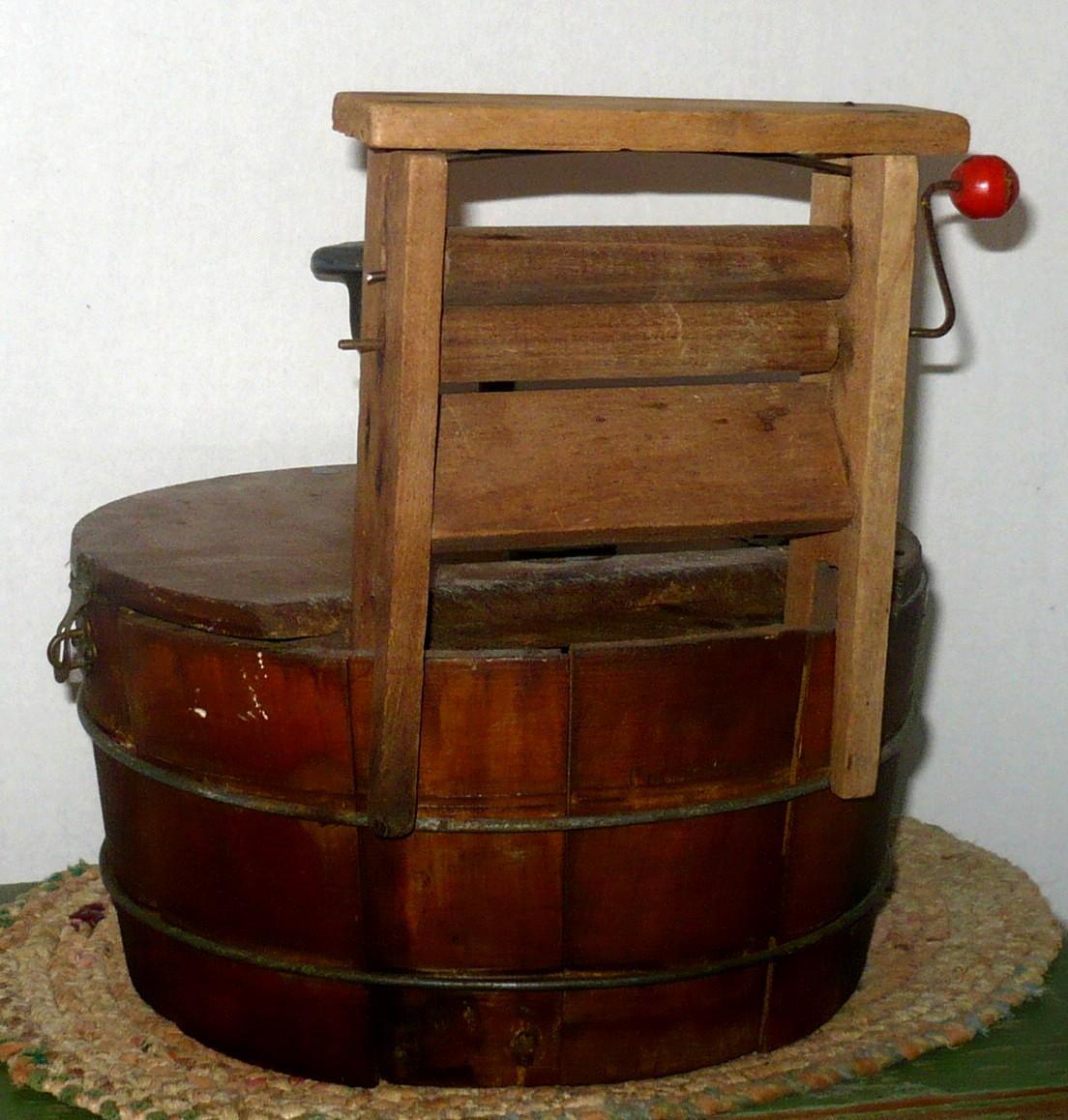 wood washing machine