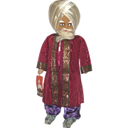 Fine and Scarce 18 Inch 1940 Molly-'es Astrologist Cloth Character from Thief of Baghdad Series with Tag
