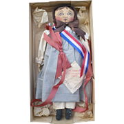 UFDC 1993 Chicago Sovenir Emma Doll Columbian Centennial - Red Tag Sale Item