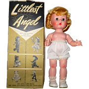 1956 HP Bent Knee Walker 11 Inch R & B Littlest Angel Fresh Face Color Blush Great Original Box