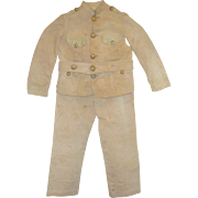 WW1 Dough Boy or Military School Boy's Uniform