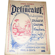 April 1898 The Delineator Fashion Prints Cycling Costumes Hair Styling Mens Knickers