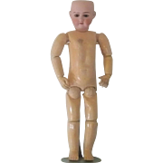 32 Inch Heinrich Handwerck Mold 99 Brown Sleep Eyes Good Bisque & Body No Wig or Clothes Project Doll