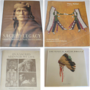 In A Sacred Manner We Live + Sacred Legacy with Photographs Edward S. Custis + Hau Kola + The Spirit of Native America