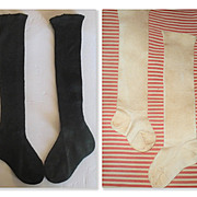 2 Pair Stockings for Large Dolls
