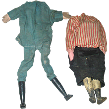 2 Bodies for Mechanical, Clapper  or Squeeze Mechanism Dolls