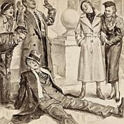 "American Art - George Brehm: ""Very Funny!"" - 1934 Saturday Evening Post Original Illustration Art"