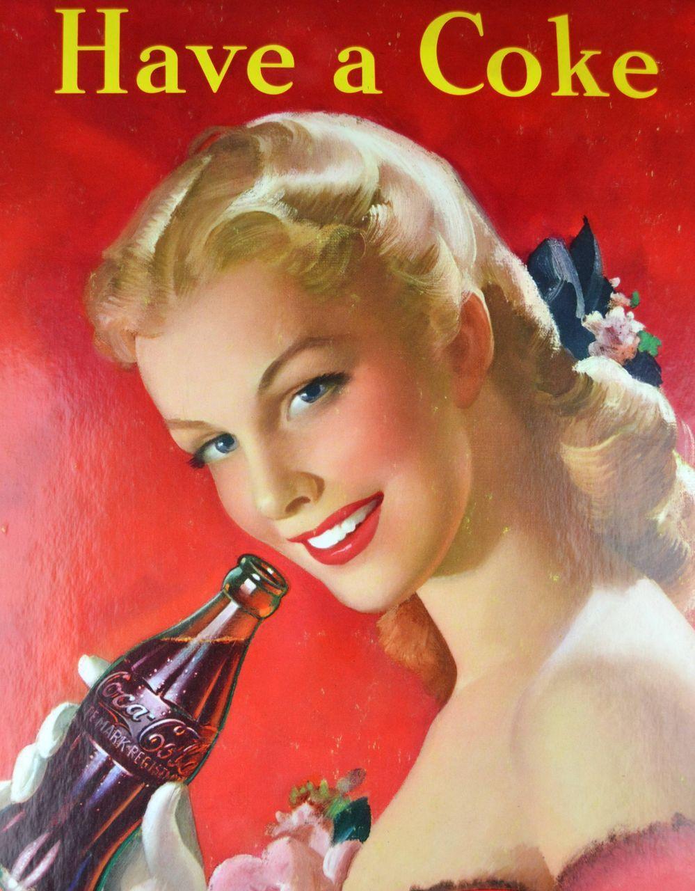 1948 Coca-Cola Vertical Poster