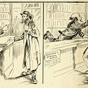 American Art - Original Cartoon Art: Boschee's German Syrup