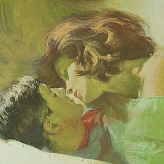 Frederick Laurent (GB, 1922-1995) - Dear Liar, 1963 British Illustration Original Gouache