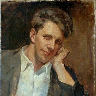 American Artist – Vintage Oil on Canvas Portrait