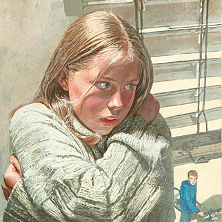 Mike Adams: Io Sono Judith, 1997 Original Book Cover Watercolor