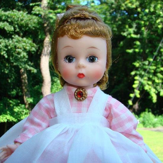 Little Women Meg Doll Wendy Ann Face C1961 Madame Alexander Pristine