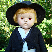C1950-52 Strung PL Vogue Ginny Doll Transitional Dressed as Groom