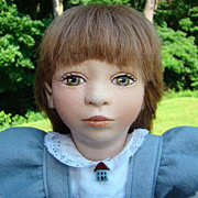 Maggie Iacono Vanessa All Felt Artist Doll 17 Inch Limited Edition 24/25