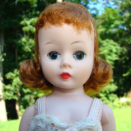 C1958 Cissette Doll Madame Alexander Red Hair in Chemise