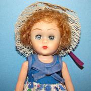 C1957 Virga Playmates 8 Inch Toddler Betsy Doll SLW Ginny Playmate