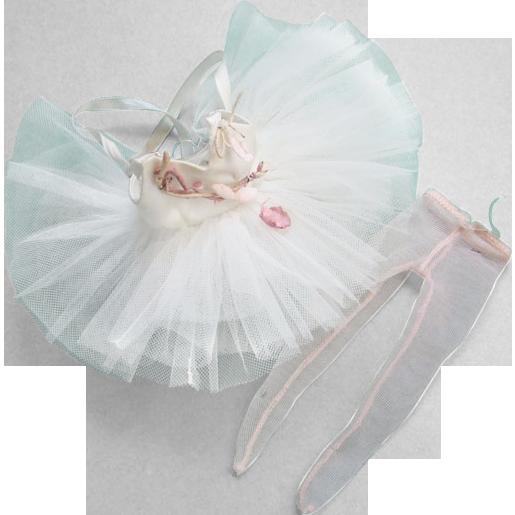 C1957 Cissette Doll White Ballerina Tutu Tights Madame Alexander