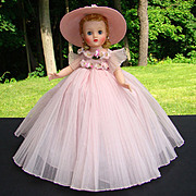 1959 Elise Doll Pink Bridesmaid Madame Alexander 1830 Absolutely Stunning