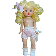 C1955 Nancy Ann Muffie Doll Pigtail Blonde SLW ML Undressed Box