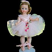 C1958 Cissette Pink Ballerina Doll 813 in Box Madame Alexander
