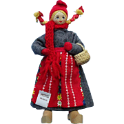 Charlotte Weibull Cloth Costume Doll Swedish Sweden Pristine with Tag