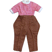 1959 Betsy McCall Pony Pals B-49 Jodhpurs for 8 Inch Doll American Character