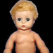 C1956-57 Little Genius Baby Doll Hard Plastic Head Madame Alexander