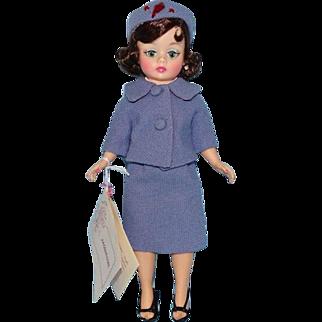 Madame Alexander Jacqueline Jackie Cissette Doll Blue Wool Suit Pristine 9 inch