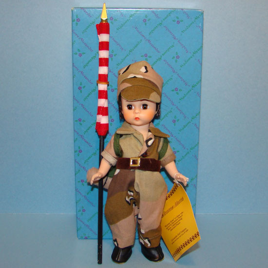 1991 Welcome Home Doll Operation Desert Storm Exclusive 91-3 Brunette Alexander