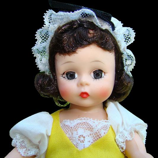 C1964-72 Madame Alexander French Girl Doll 790 Bent Knee Pristine in Box